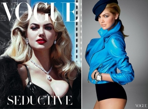Kate on the cover of Vogue Italia