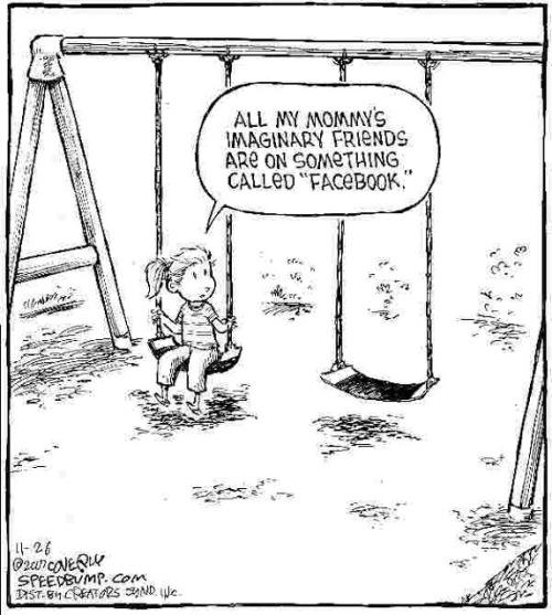 Cartoon by Dave Coverly of speedbump.com